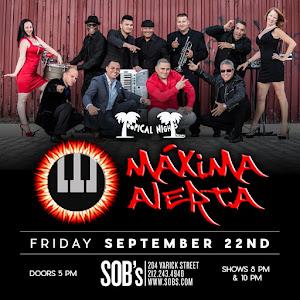 Maxima Alerta @ SOB's