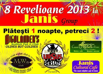 Revelion 2013 Janis Group