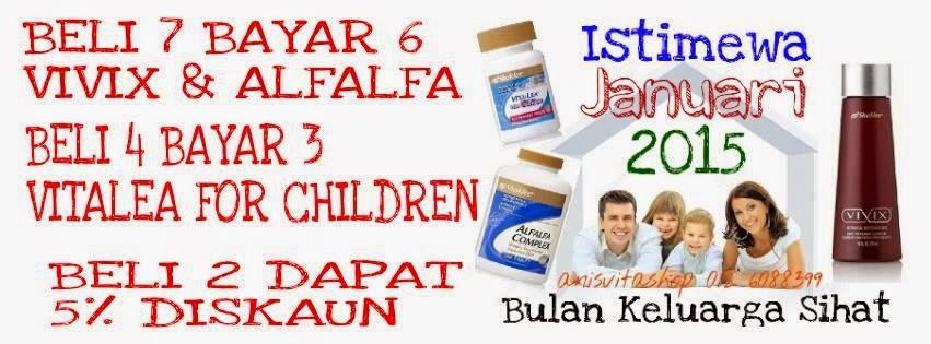 vitamin shaklee murah