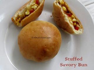 Stuffed Savory Bun