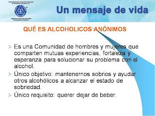 El factor negativo el alcoholismo