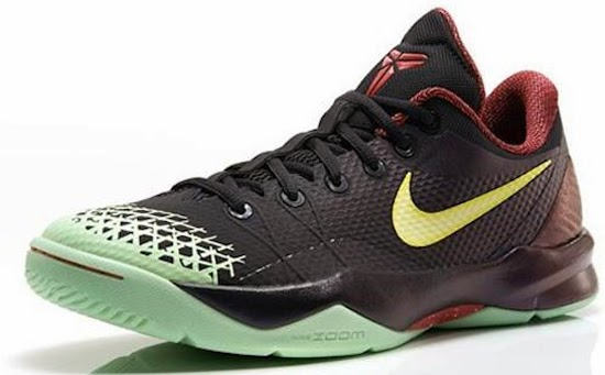 This black, lemon chiffon and court purple colorway of the Nike Zoom Kobe Venomenon 4 is the first pair set to release in the US. All previous colorways and ...