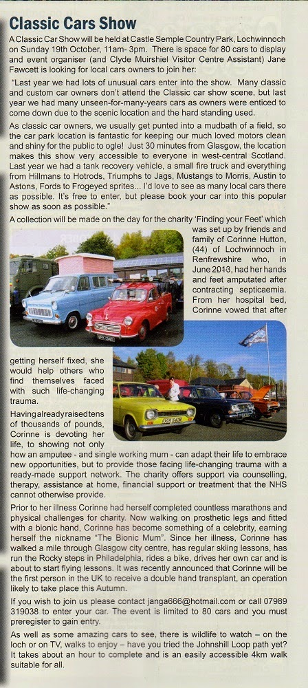 you can 39 t tour on a single classic car show lochwinnoch. Black Bedroom Furniture Sets. Home Design Ideas