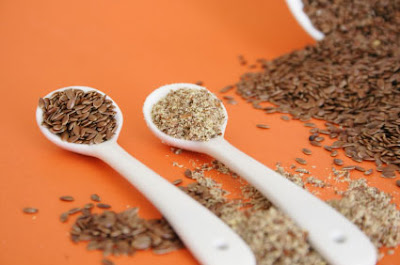 How can you lose weight with ground flaxseed?