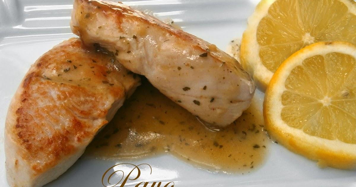 Pechuga de pavo al lim n la cocina de la abuela - Pechugas al limon ...