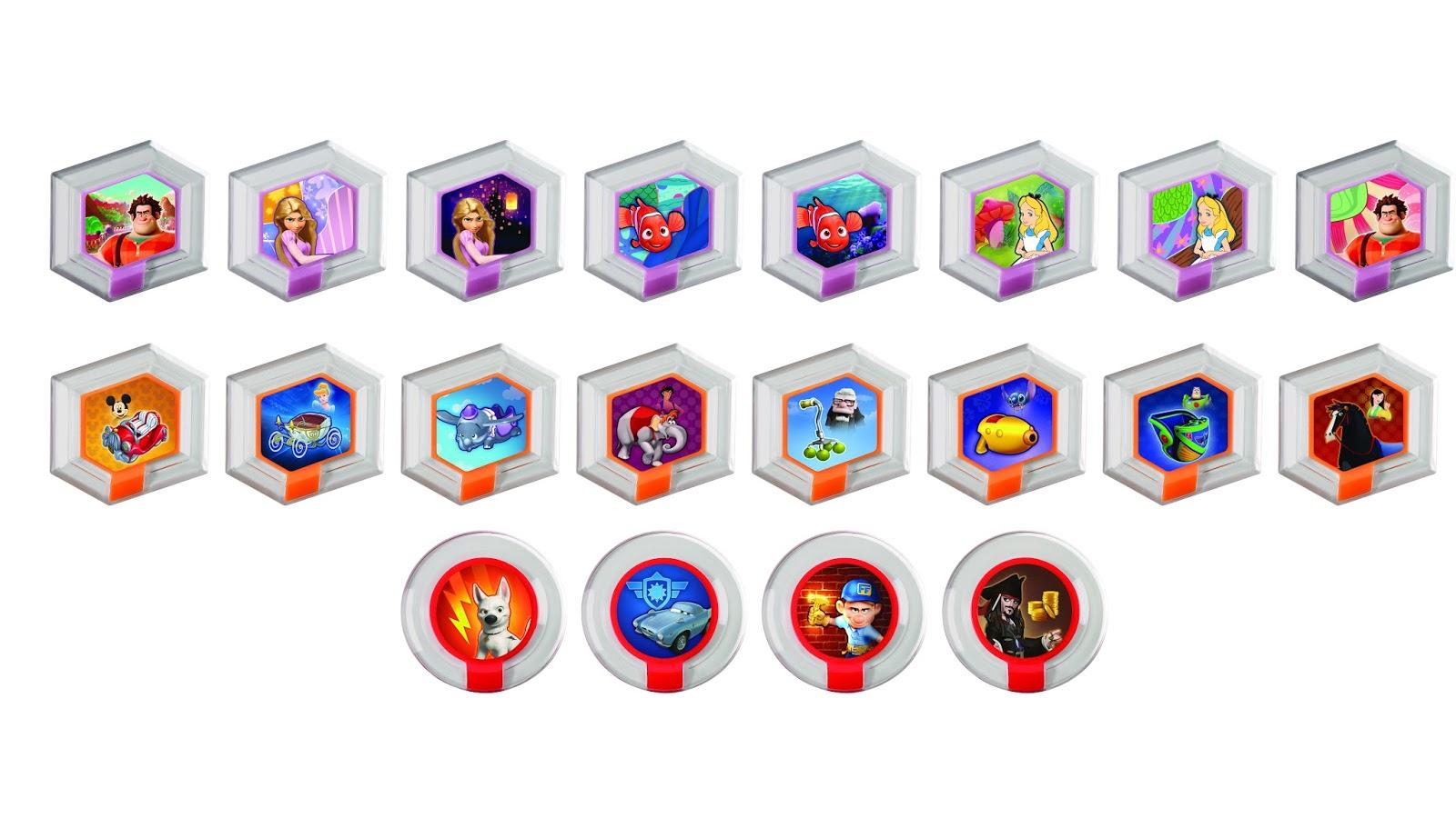 Mashbuttons Disney Infinity Announces Power Discs