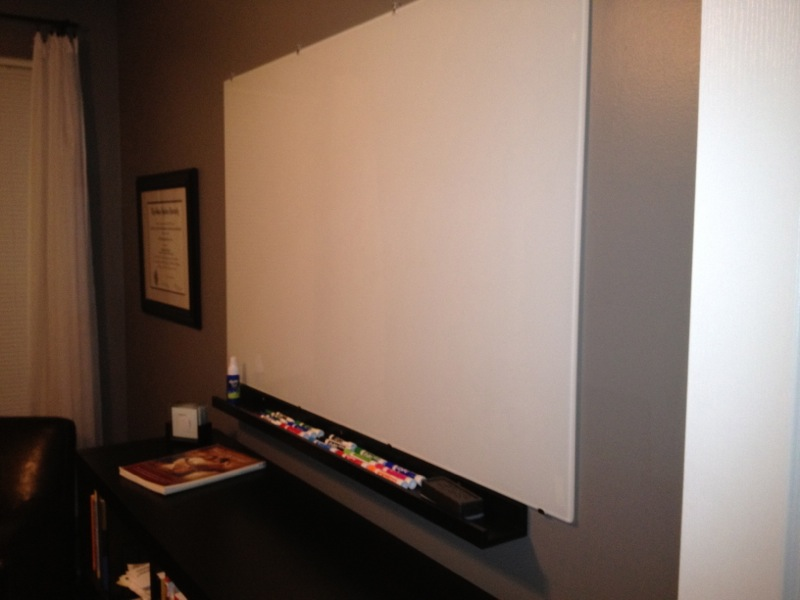 IKEA Hackers: NOT Expensive Glass Whiteboard