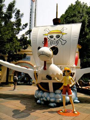 Going Merry One Piece Formosa Aboriginal Culture Village Taiwan