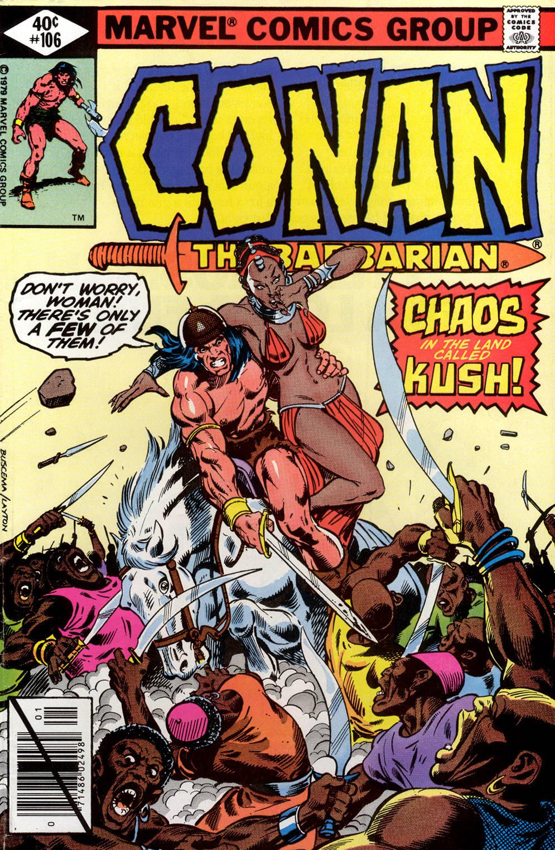 Conan the Barbarian (1970) Issue #106 #118 - English 1