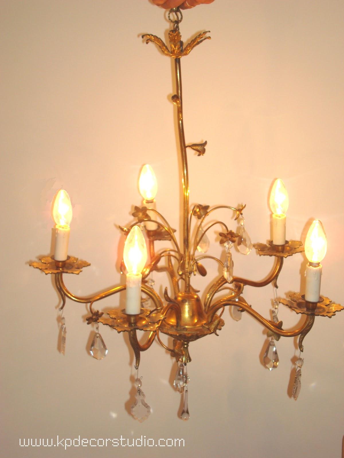 Kp tienda vintage online l mpara de l grimas a os 50 - Precios de lamparas ...