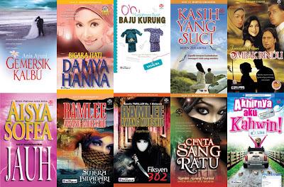 Novel Terlaris Minggu Ini (Online Karangkraf Mall)