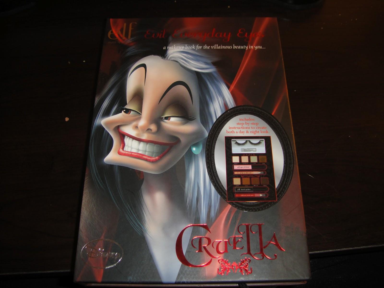 e.l.f.'s Villainous Villain: Cruella look.
