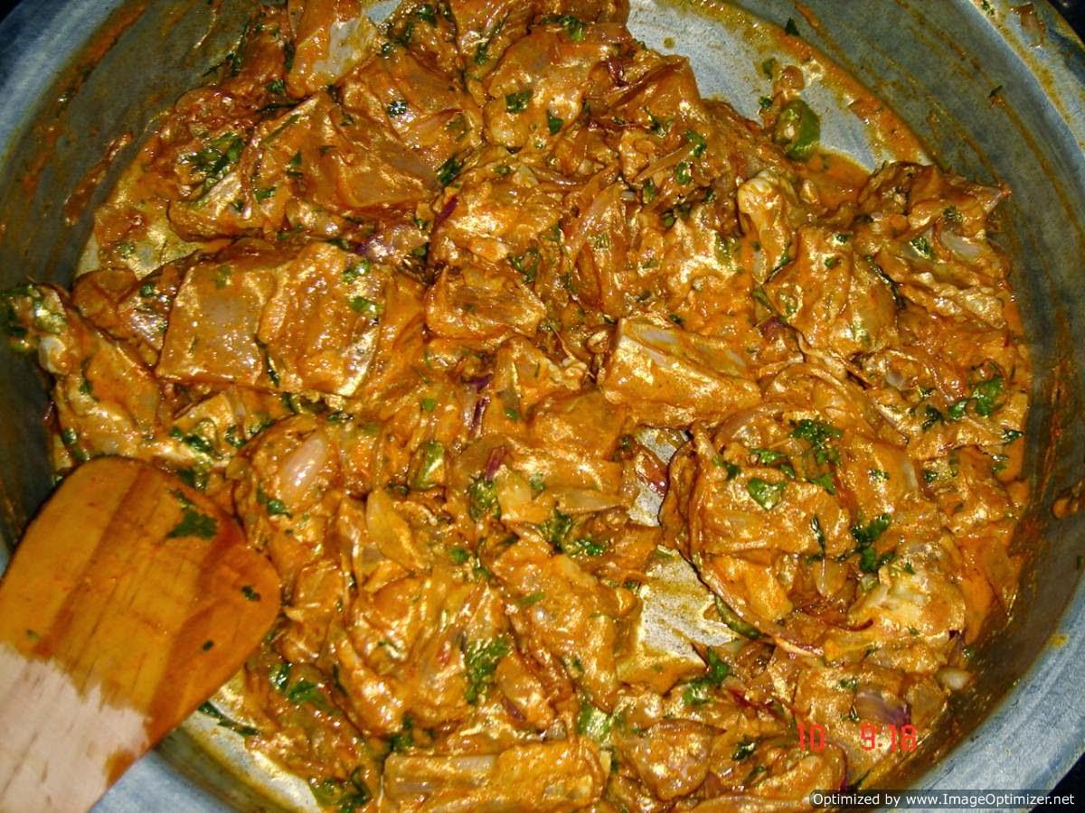 Hyderabadi dum chicken...