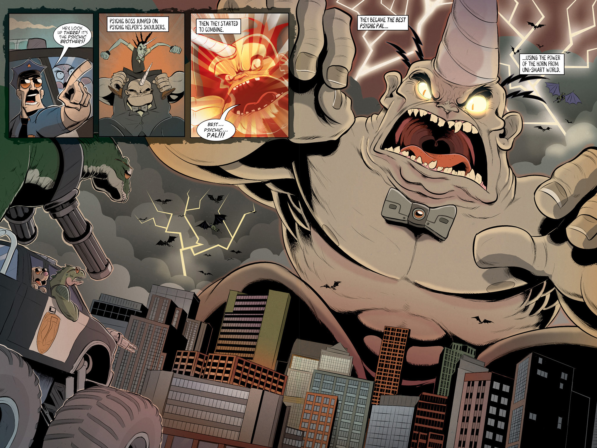 Read online Axe Cop: Bad Guy Earth comic -  Issue #2 - 20