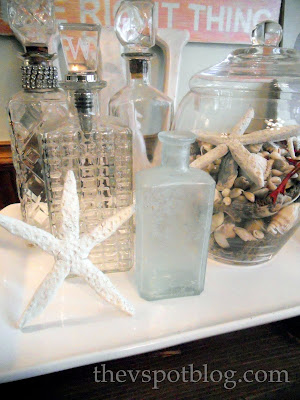 DIY Faux starfish made from dough. Coastal decor