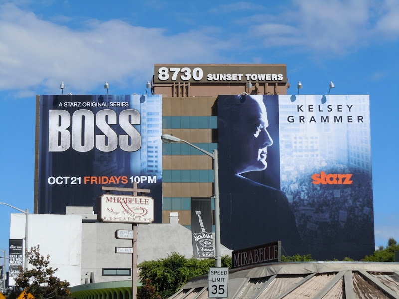 Kelsey Grammer Boss TV billboard
