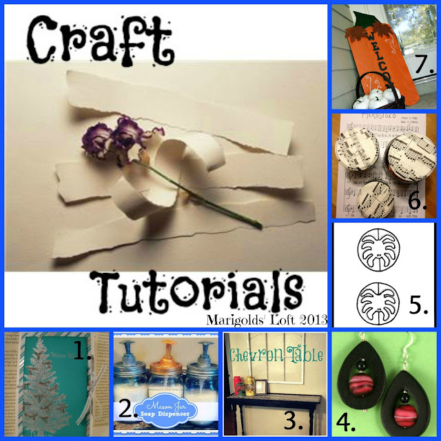 craft tutorials features