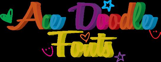 Ace Doodle Fonts