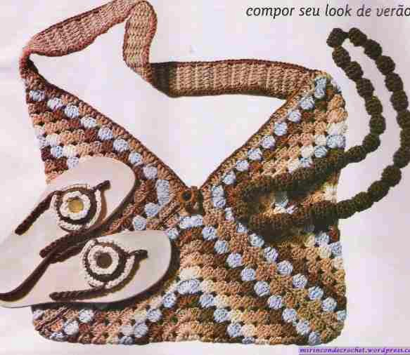 Bolso a Crochet o Ganchillo