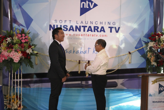 Nurdin Tampubolon Dirikan Nusantara TV