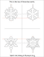 font snowflakes