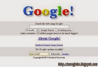 tampilan google.com jadul