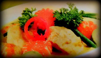 Resep Sayur Tahu Bumbu Kuning Bali
