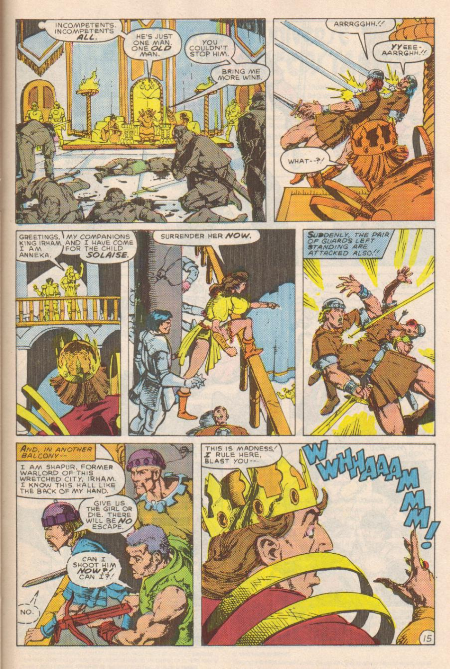 Conan the Barbarian (1970) Issue #191 #203 - English 16