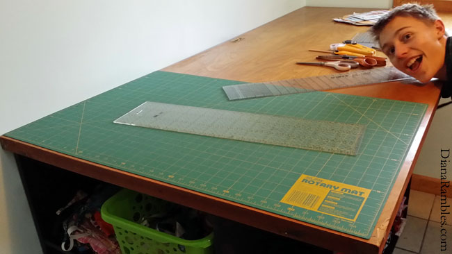 Craft Table Sewing Cutting
