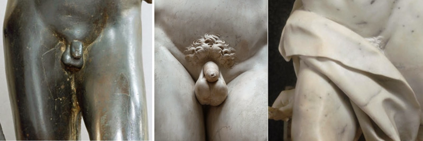 an analysis of david sculptures by different famous artists