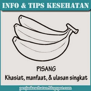 manfaat dan khasiat pisang (tanaman obat keluarga)