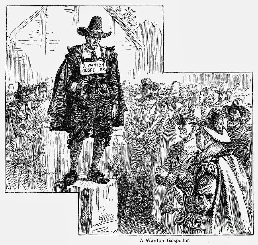 a report on the puritans Puritans the puritans were a group of people who grew discontent in the  church of england and worked towards religious, moral and societal reforms.