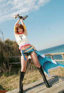 Final Fantasy X Yuna Cosplay by Aira