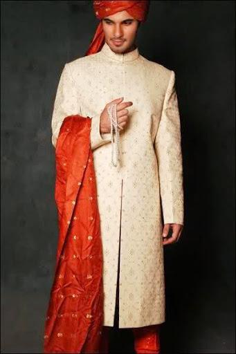 Contoh Model Baju Pengantin Pria Muslim Desain Sederhana