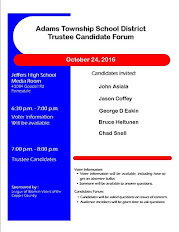 Adams Township School District Trustee Candidate Forum