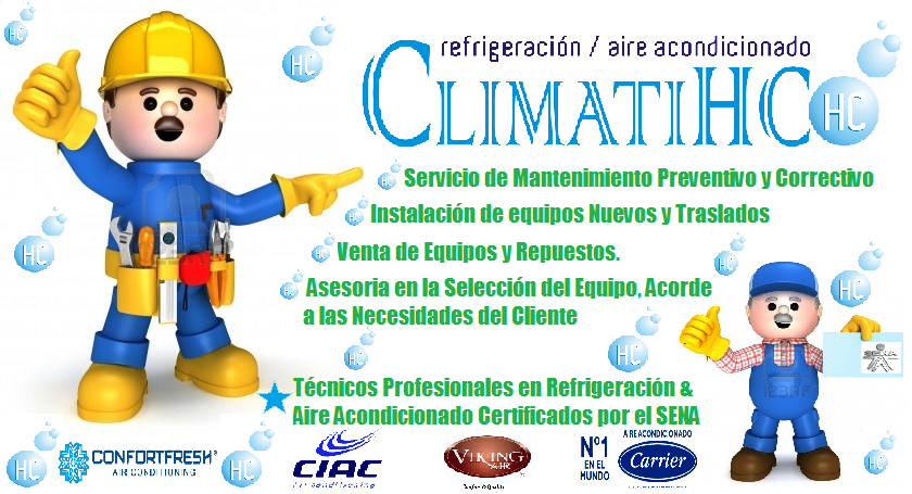 Climatihc neiva servicios ofrecidos for Arreglar aire acondicionado