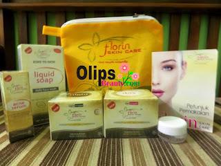 Florin Skin Care Paket Acne Serum Kemasan Baru : Menghilangkan Jerawat Mengobati Komedo dan Mencerahkan Kulit Wajah