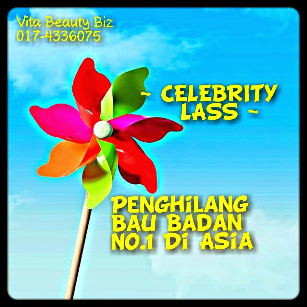 Celebrity Lass Penghilang Bau Badan No 1 Di Asia