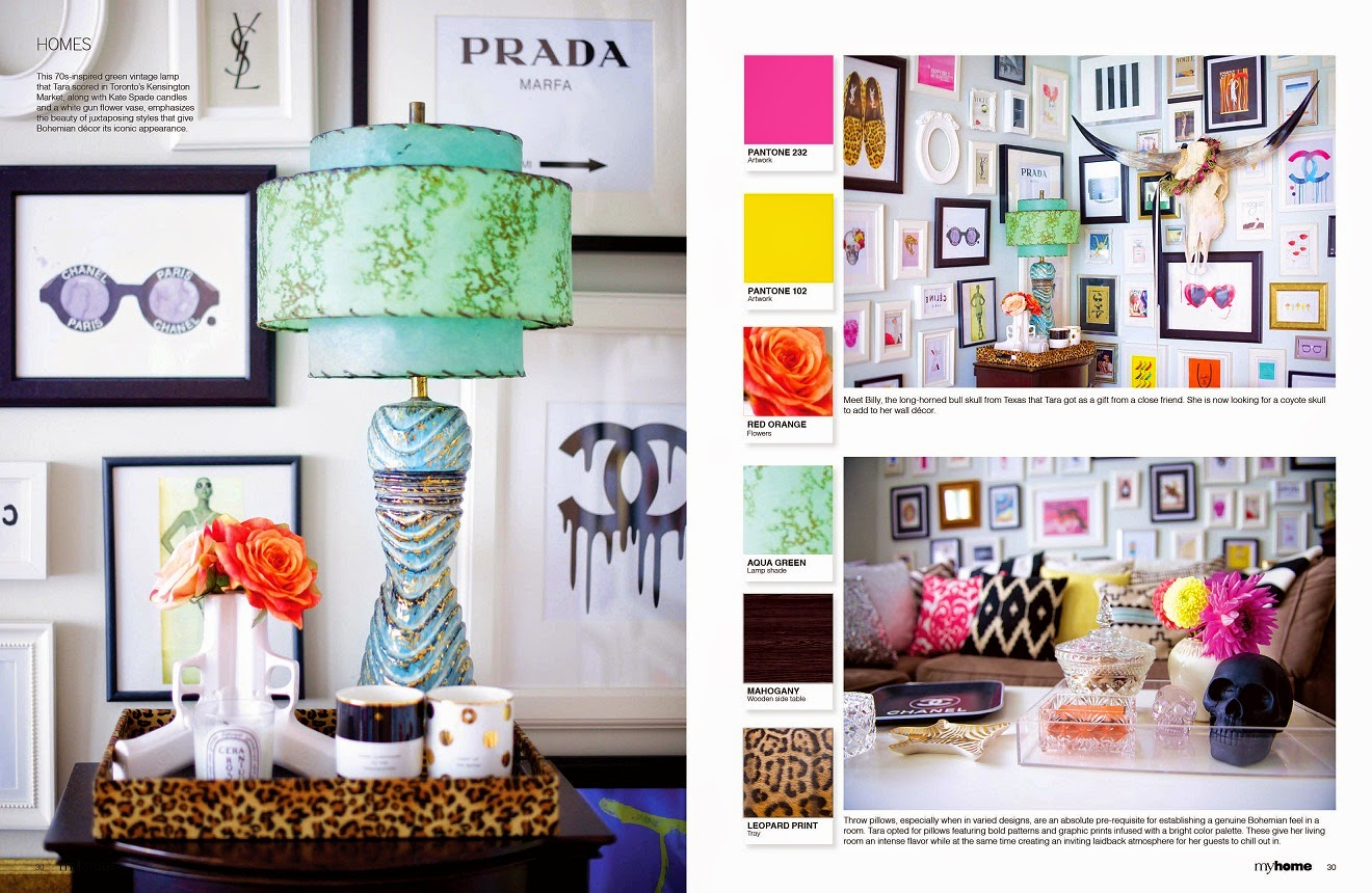 Living In Color, Bohemian Meets Glam