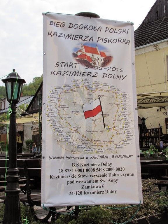 Start Biegu Dookoła Polski w Kazimierzu Dolnym