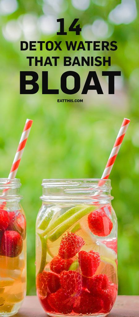 14 Detox Water Recipes That Banish Bloat