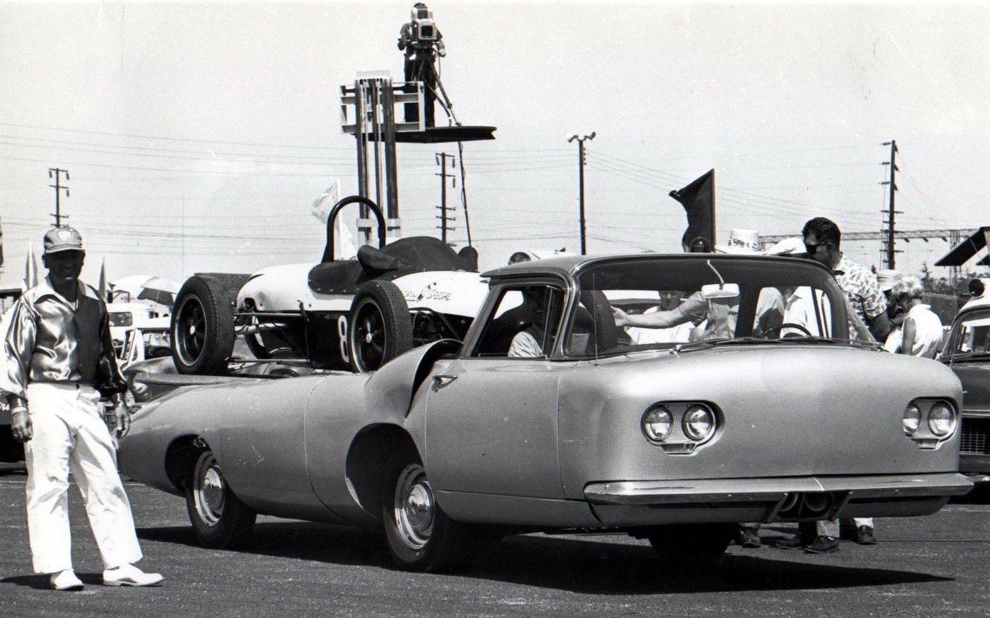 Image result for The Moon race car transporter