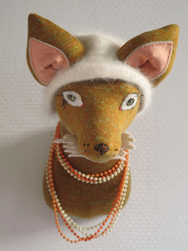 Les Petits Bohemes wall mount fox