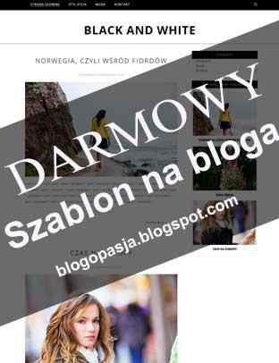 Szablon na bloga blogspot / blogger do pobrania za darmo