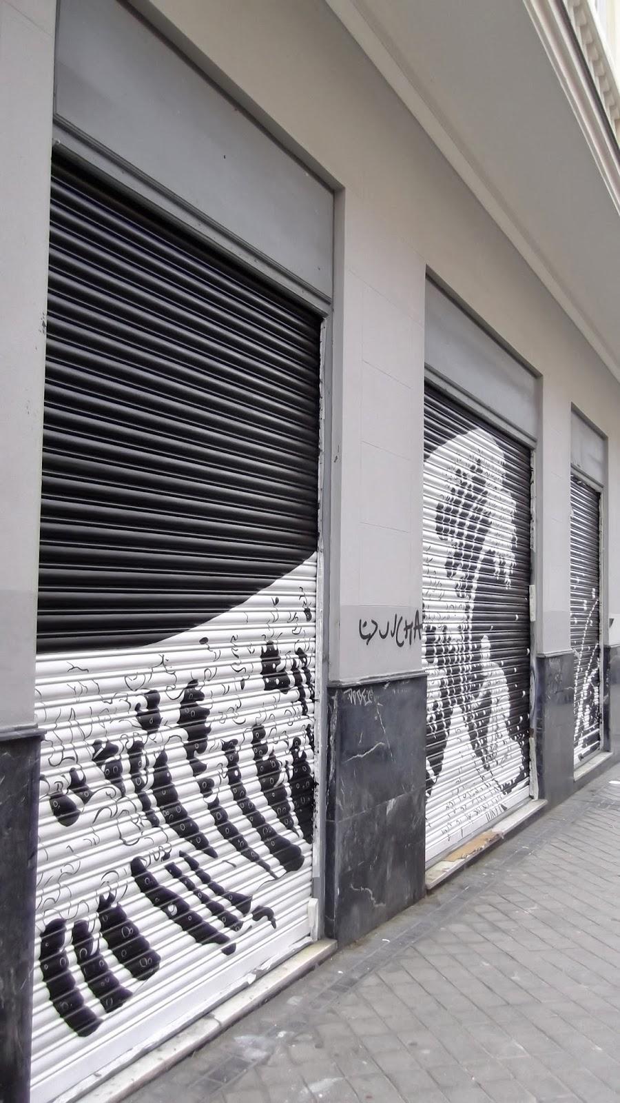 """""""liquitex"""", """"ISDI"""", """"MURAL"""", """"Calle Viriato"""", Street art"""""""