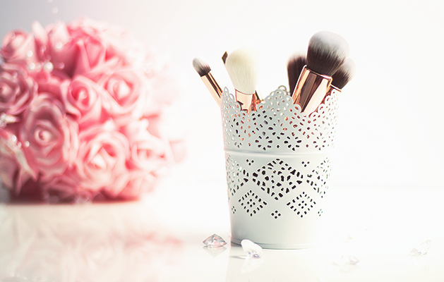 Zoeva Rose Golden Luxury Set, Zoeva Rose Gold Brushes, Zoeva Rose Gold Brush set