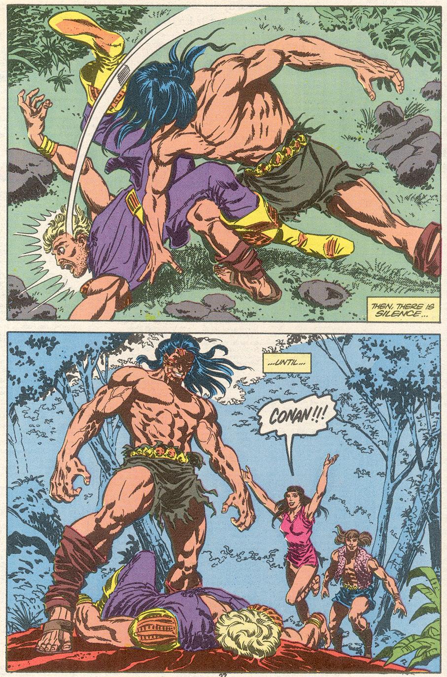 Conan the Barbarian (1970) Issue #239 #251 - English 21