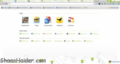 Top 10 Android Based Google Chrome Themes