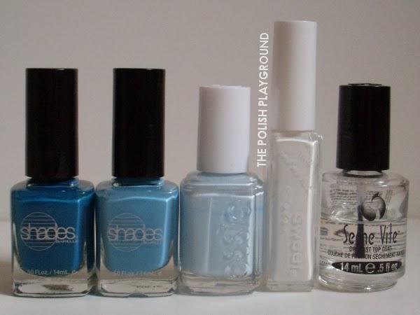 Barielle, Essie, Born Pretty Store Nail Art Liner, Seche Vite