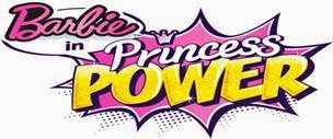Barbie is starring in Princess Power!